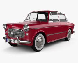 3D model of Fiat 1200 Granluce 1957