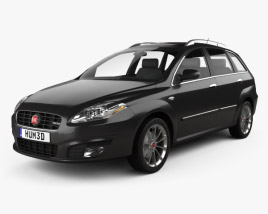 3D model of Fiat Croma 2008