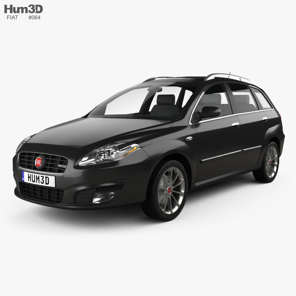 Fiat Croma 2008 3D model