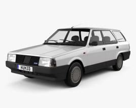 Fiat Regata Weekend 1984 3D model