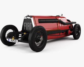 3D model of Fiat SB4 Eldridge Mefistofele 1924