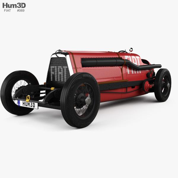 Fiat SB4 Eldridge Mefistofele 1924 3D model