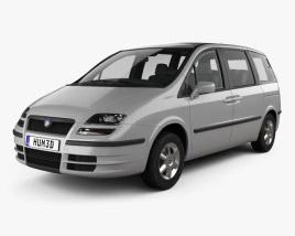 Fiat Ulysse 2002 3D model