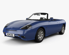 Fiat Barchetta 1995 3D model