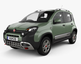 3D model of Fiat Panda Cross 2014