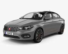 3D model of Fiat Aegea 2016