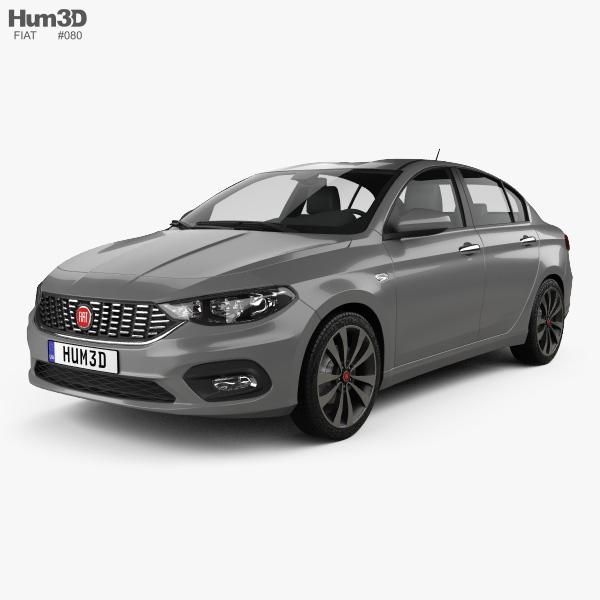 Fiat Aegea 2016 3D model