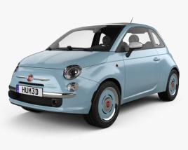 3D model of Fiat 500 San Remo 2014