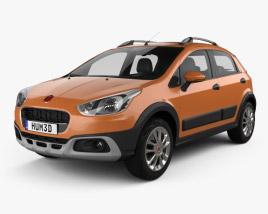 3D model of Fiat Avventura 2014