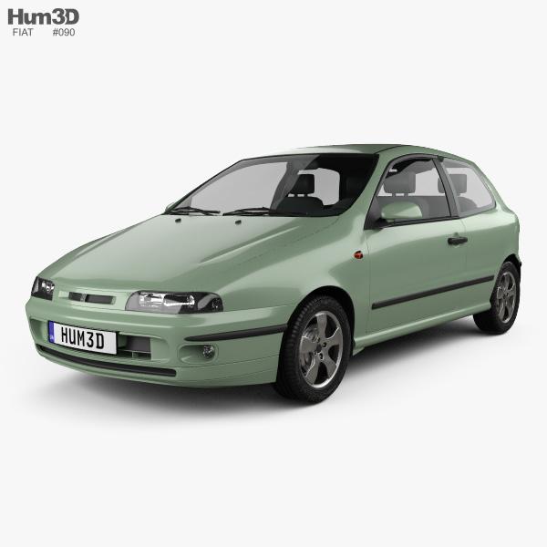 Fiat Bravo 1995 3D model