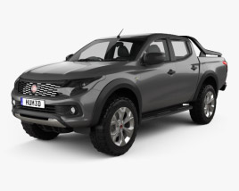 3D model of Fiat Fullback Concept 2016