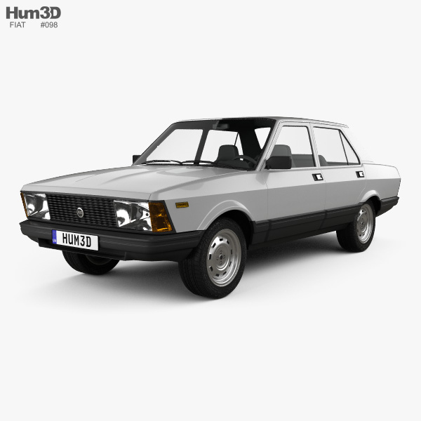 Fiat Argenta 1981 3D model