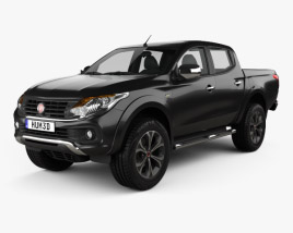 3D model of Fiat Fullback Double Cab 2016