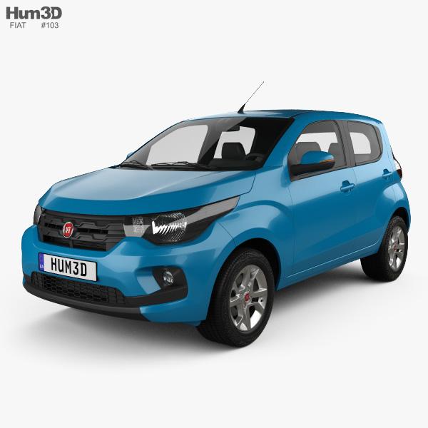 Fiat Mobi Like On 2017 3D model