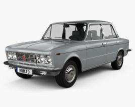 3D model of Fiat 125 1967