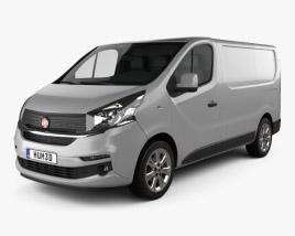 3D model of Fiat Talento Panel Van 2016