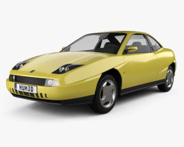 Fiat Coupe Pininfarina 1998 3D model