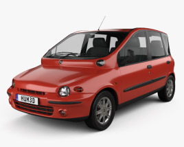 3D model of Fiat Multipla 1998