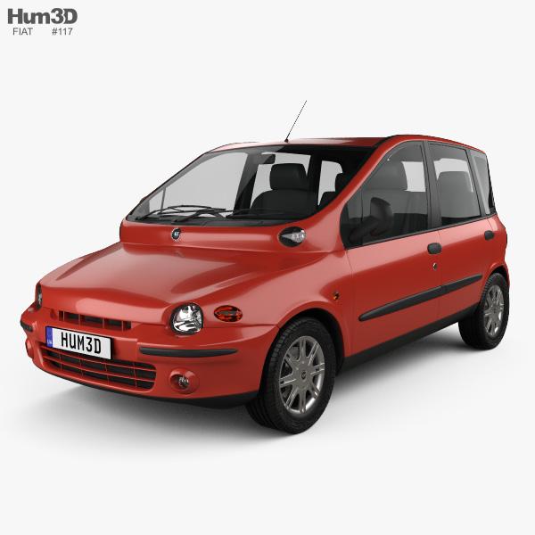 Fiat Multipla 1998 3D model