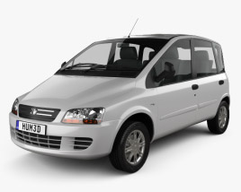 3D model of Fiat Multipla 2006