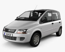 Fiat Multipla 2006 3D model