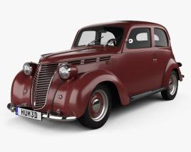 3D model of Fiat 1100 B 1949