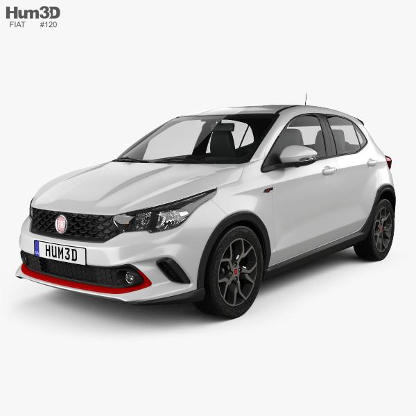 Fiat Argo HGT 2017 3D model
