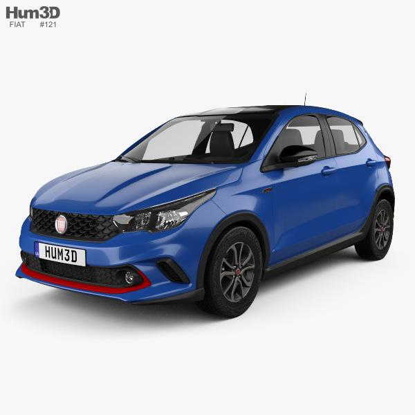 Fiat Argo HGT Opening Edition Mopar 2017 3D model