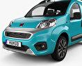 Fiat Fiorino Premio 2016 3d model