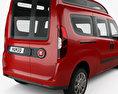 Fiat Doblo Combi L2H2 2015 3d model