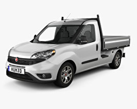3D model of Fiat Doblo Work Up 2015