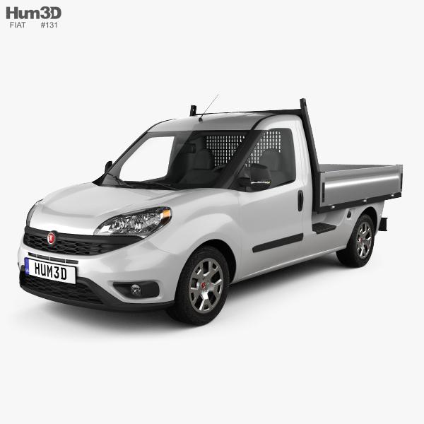 Fiat Doblo Work Up 2015 3D model