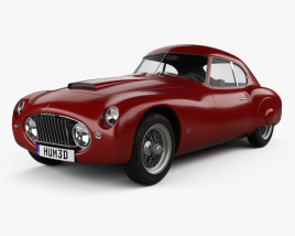 3D model of Fiat 8V coupe 1952