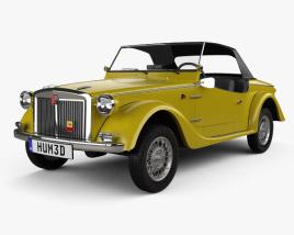 3D model of Fiat Siata Spring 1968