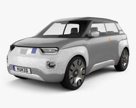 3D model of Fiat Centoventi 2019