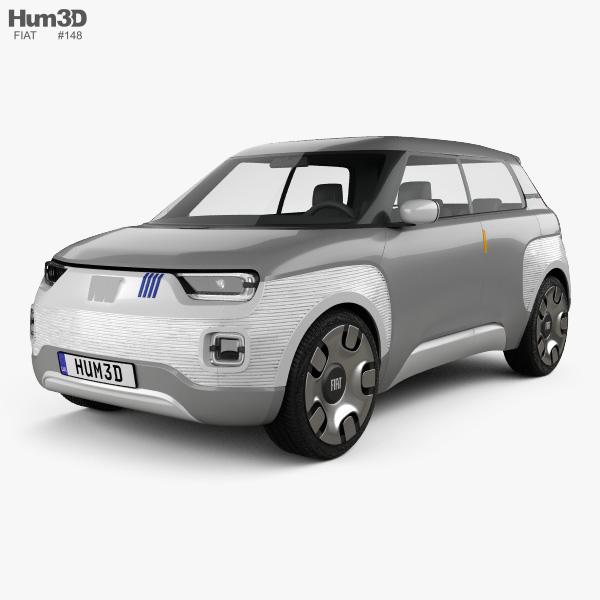 Fiat Centoventi 2019 3D model