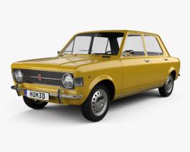 3D model of Fiat 128 1969