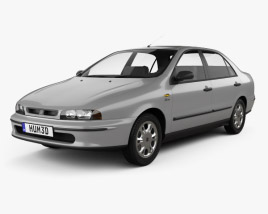 3D model of Fiat Marea 1997