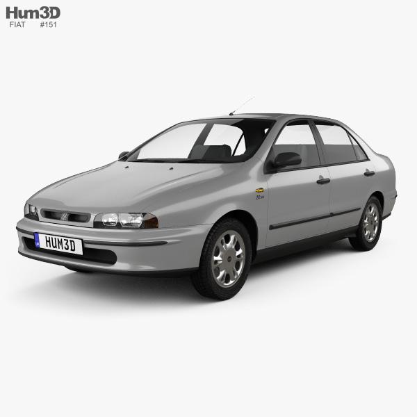 Fiat Marea 1997 3D model