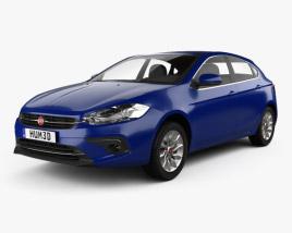 3D model of Fiat Ottimo 2014