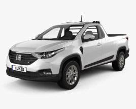 3D model of Fiat Strada CS Freedom 2020