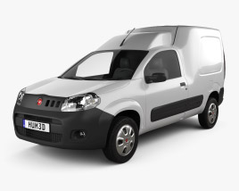 3D model of Fiat Fiorino 2015