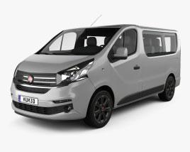 Fiat Talento Passenger Van 2016 3D-Modell