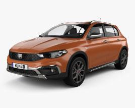 Fiat Tipo Cross hatchback 2020 Modelo 3D