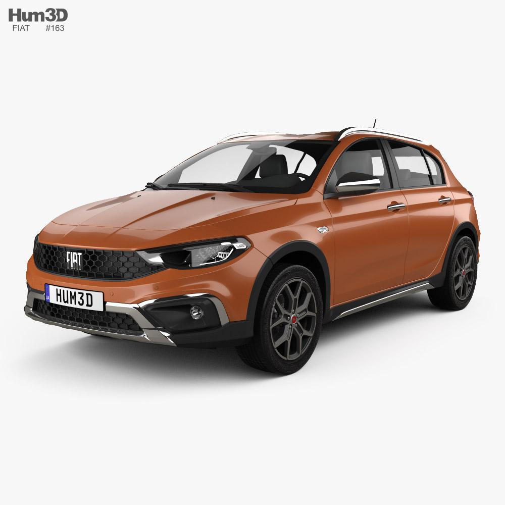 Fiat Tipo Cross hatchback 2020 3D model