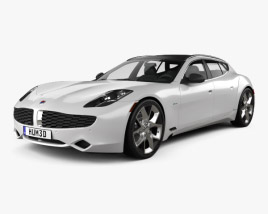 3D model of Fisker Surf 2013