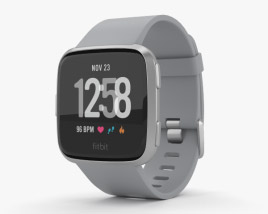 3D model of Fitbit Versa Gray