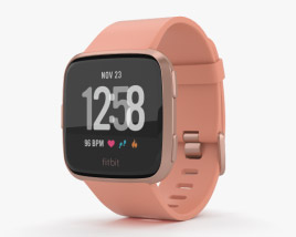 3D model of Fitbit Versa Peach