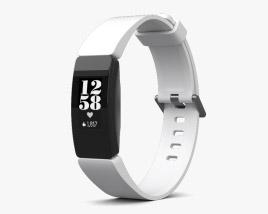 Fitbit Inspire HR White 3D model