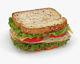 3D model of Sandwich